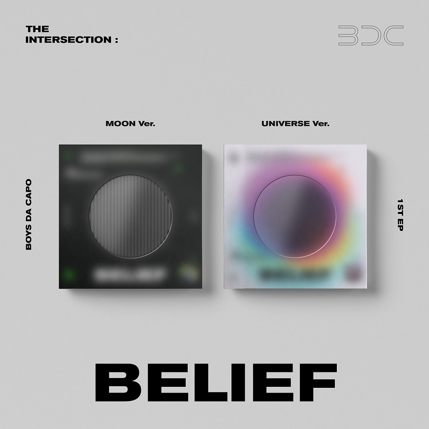 BDC - EP 앨범 [THE INTERSECTION : BELIEF] (MOON 버전 + UNIVERSE 버전)케이팝스토어(kpop store)
