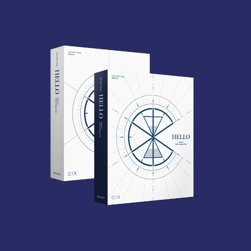 CIX - 3rd EP Album 'HELLO' Chapter 3. Hello, Strange Time (Hello Ver.)케이팝스토어(kpop store)