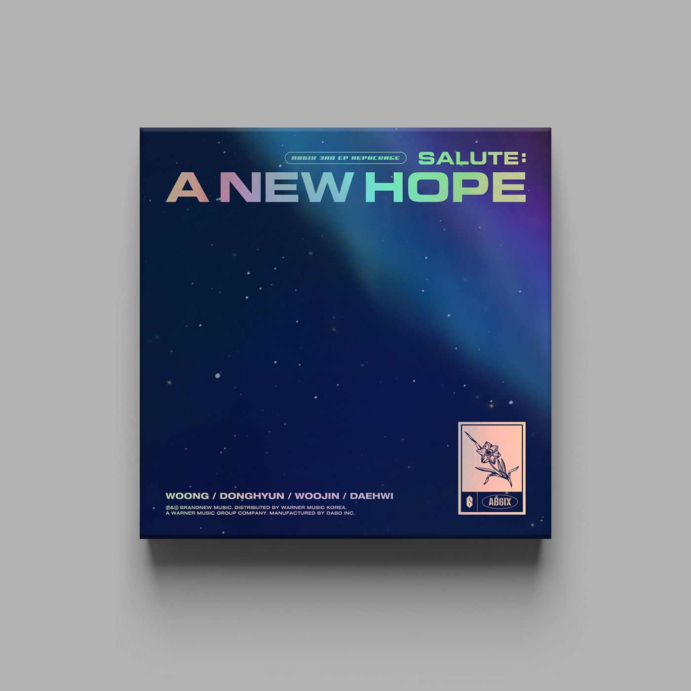에이비식스(AB6IX) - 3RD EP REPACKAGE [SALUTE : A NEW HOPE] (NEW Ver.)케이팝스토어(kpop store)