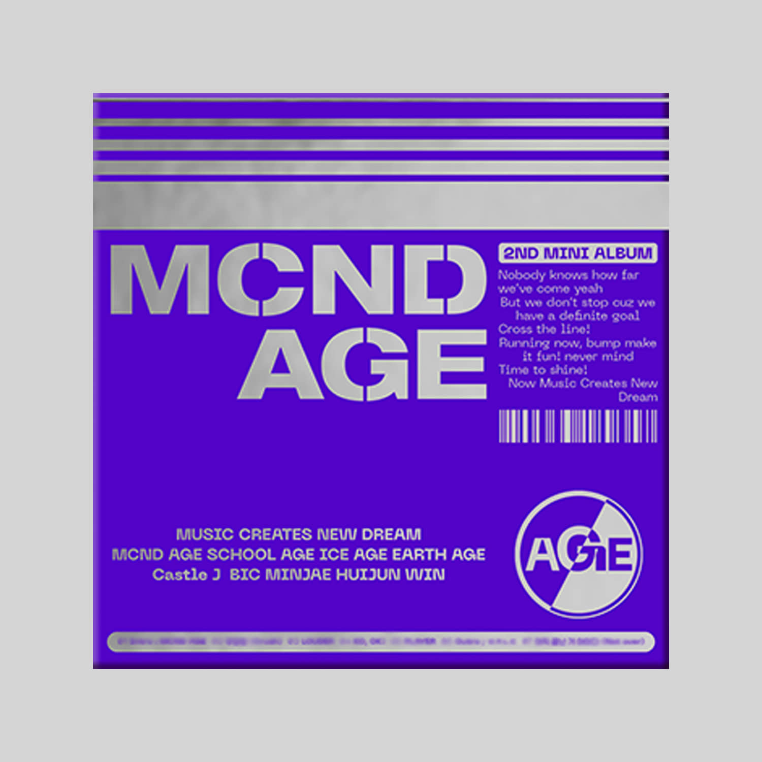 MCND - 2ND MINI ALBUM [MCND AGE] (GET Ver.)케이팝스토어(kpop store)